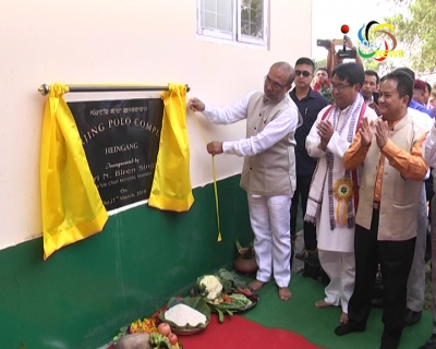 Chief Minister Biren inaugurates Marjing Polo Complex; says Polo ground will also be constructed at the hillock shortly