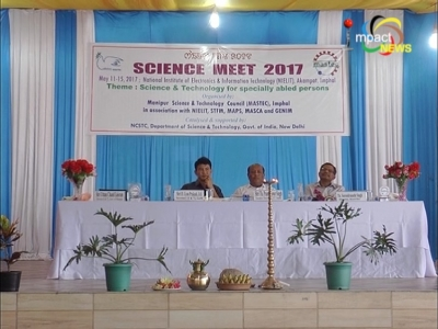 Manipur Science Meet kicks off at National Institute of Electronics and Information Technology,  Akampat