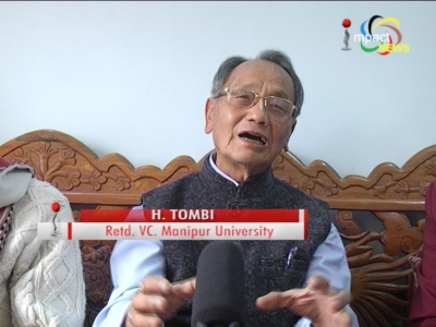 Former Vice Chancellor of MU, H. Tombi expresses apprehension over demographic imbalance; says Meitei/Meetei may soon become minority
