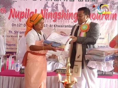 MAHUD Minister Thounaojam Shyamkumar appeals to Manipuri women to give up Kwa Zarda