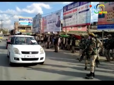 Indefinite curfew imposed from Lamlong to Yaingangpokpi in Porompat and Sawombung sub divisions of Imphal east