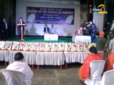 """Candidates sign UCM and CCSK Manipur """"Pledge to the People of Manipur"""" on framework agreement"""
