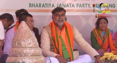 Prahlad Singh Patel asserts BJP focusses on the development of North East states