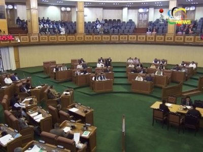 Chief Minister, Nongthombam Biren wins the Floor test with support of 32 MLAs; Yumnam Khemchand Singh elected the speaker