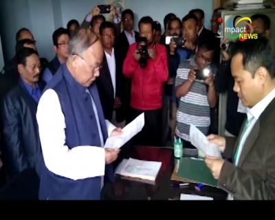 Scrutiny of nominations for the first phase is going on, Today is the last day of filing of nominations for the second phase of Manipur elections
