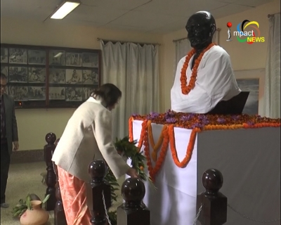 State joins the Nation in paying homage to Father of the Nation Mahatma Gandhi on his 70th death anniversary