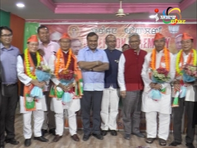 Four more Congress MLAs join BJP unconditionally today