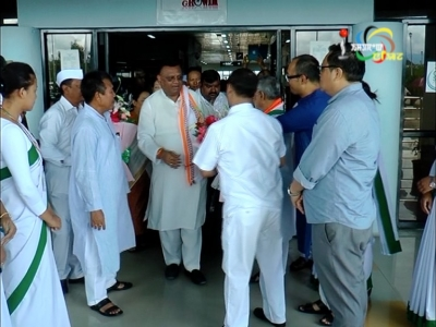 AICC leaders arrive in Imphal to chalk out pre-poll plans; general secretary CP Joshi says he wants to understand political situation in Manipur