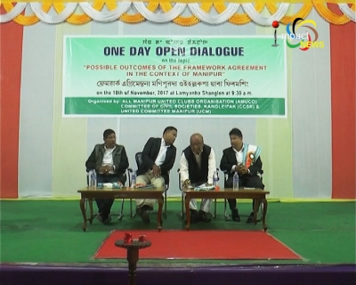 Open dialogue on framework agreement espouses the concept of protecting Manipur's exclusiveness, polity and flexibility