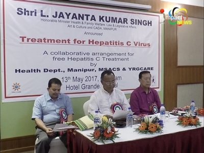 Patients suffering from Hepatitis C to get free treatment in Manipur