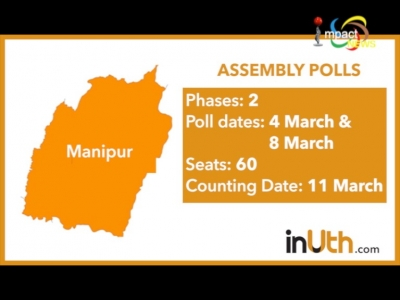 Political parties intensify election campaign, PM Modi to speak at a election rally at Langjing Achouba tomorrow