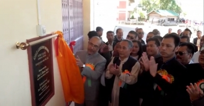 CM Biren inaugurates 5 different offices and lays foundation for women's market in Chandel district