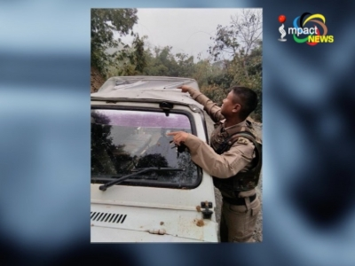 In the first attack on candidate in the 11th assembly elections, gunmen ambush Gaikhangam in Thingkhongjang in Noney district
