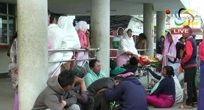 Violence erupted in RIMS following the death of a student