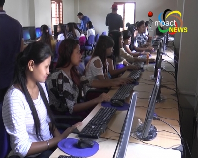 Chief Minister, Nongthombam Biren launches free Computer Training Programme