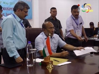 "Chief Minister Nongthombam Biren meets people on ""Meeyamgi-Numit""; says the meeting will reduce inconveniences faced by the public."