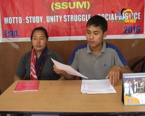 SSUM and PFM, Manipur accuse Vice President of BJP Manipur Pradesh, of safeguarding an accused of the Thanga Gang Rape Case