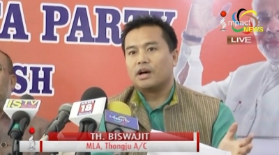 BJP Manipur Pradesh criticises Nagaland Chief Minister for challenging the integrity of the state
