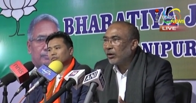 Nongthombam Biren reiterates that it is the responsibility of the state govt to end the economic blockade