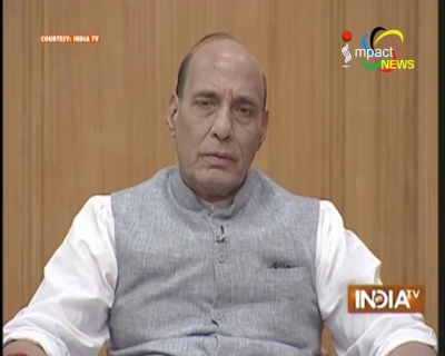 Union Home Minister Rajnath Singh assures that peace talk between NSCN-IM and Government of India will not compromise territorial integrity