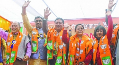 BJP announces second list for Manipur, candidates of Lamshang and Bishnupur are not in list