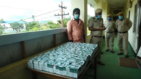 MANIPUR POLICE SEIZES 441 BOTTLES OF POSSIBLY FAKE REMDESIVIR