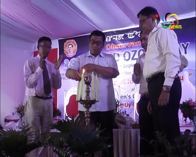 Forest minister Shyamkumar urges people to protect environment and plant trees on World Ozone day