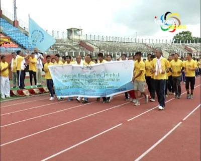 Olympic Day Run 2016 was observed in the state as held across the world