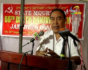 State Secretary of CPI Manipur State Council, Dr. M Nara warns about organ trade mafia against the people of North East
