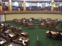 Assembly passes two appropriation bills on the last day of the 4-day session