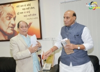Rajnath Singh assures of all possible assistance for Manipur