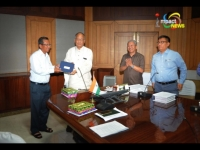 First ever e-Cabinet held in Imphal, i-pads provided to Chief Minister and his cabinet colleagues