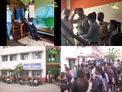 B.VoC STUDENT FOUND HANGING IN MANIPUR UNIVERSITY HOSTEL ROOM