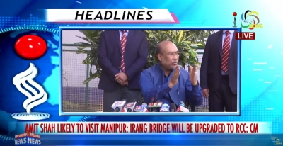 Union Home Minister Amit Shah likely to visit Manipur this Month; Chief Minister N Biren assures of upgrading Irang Bridge into RCC bridge