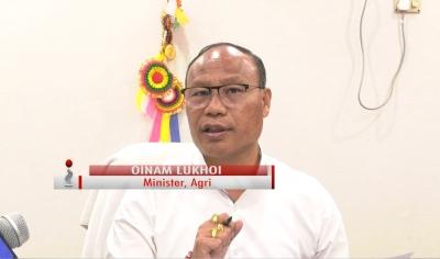 MANIPUR GOVT DIDN'T BLACK MARKET UREA: O. LUKHOI