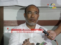 In a major political development, Heingang A/C MLA Nongthombam Biren quits Primary membership of Congress party; also resigns as MLA