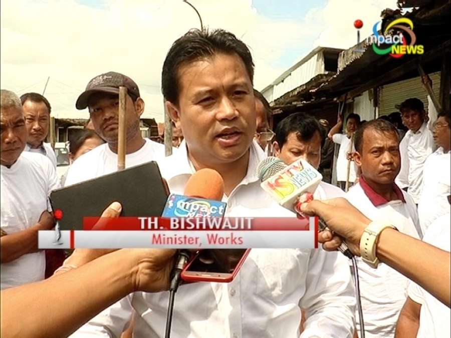 No hindrances to the dialogue and that one should not be disturbed by the  ultimatum : Thongam Biswajit - Impact TV - The Official Website
