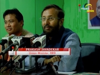 Union minister Javadekar accuses Congress govt of converting development projects into monuments