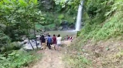 RECKLESS TOURISTS WASTE KHOUPUM WATERFALL