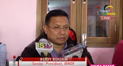 Bijoy Koijam asks Congress and BJP to stop war of words and focus on resolving UNC's economic blockade
