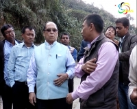 Th Chaoba doubtful of completion of Imphal-Jiri road by March